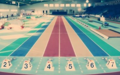 Leichtathletikteam überzeugt beim 11. Hallenmeeting der Oberschulen