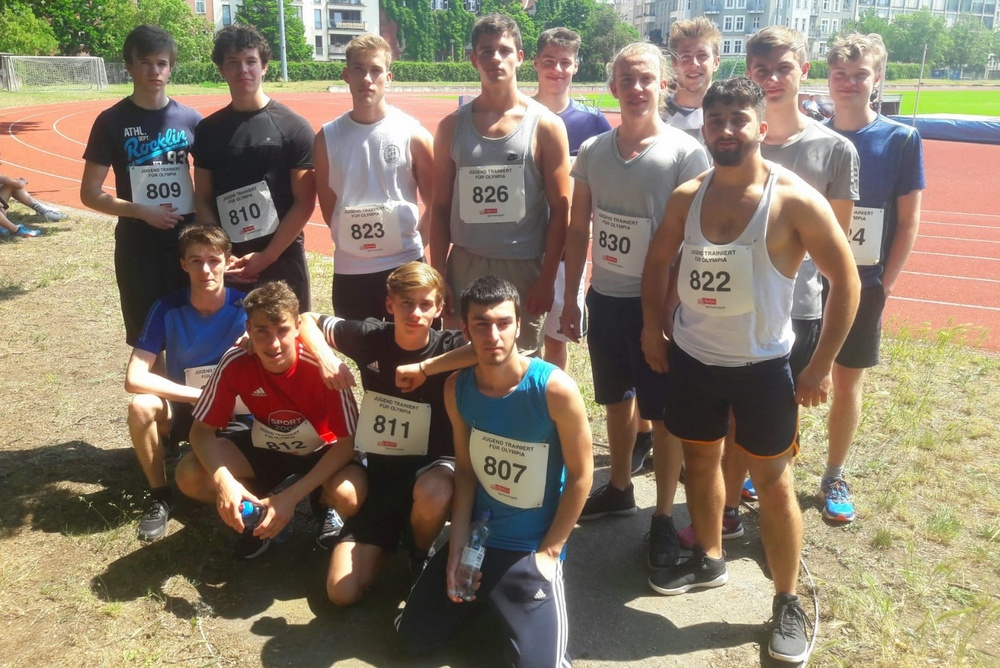GHS- Leichtathletikteam überzeugt bei JtfO