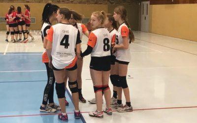 Volleyballdamen auf Platz 4 im Berliner Finale von JtfO